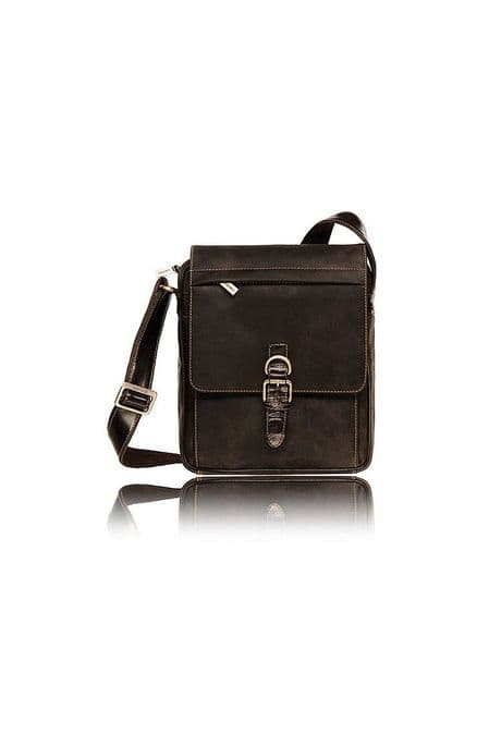 Leather Messenger Bag visconti